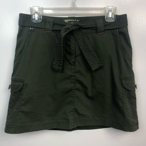 Nike Golf Sport Dri-Fit Army Green Cargo Skirt 4